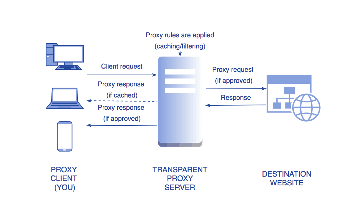 What is a Transparent Proxy? Definition, Usage, Advantages