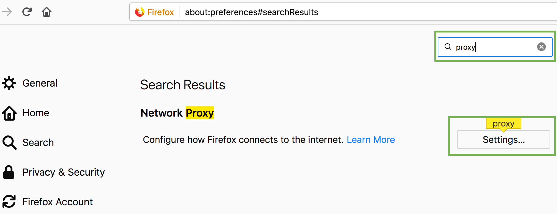 How to use SOCKS proxy on Firefox - Network proxy