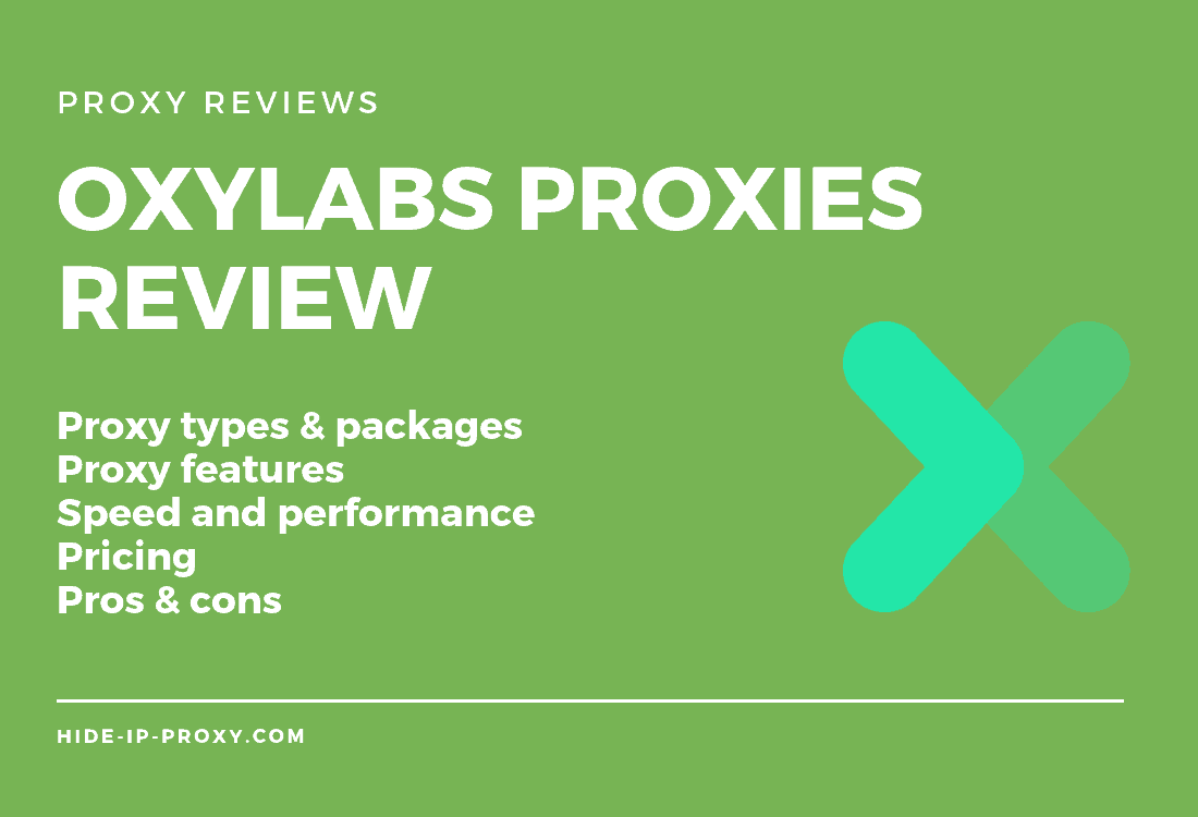 Oxylabs Proxies Review