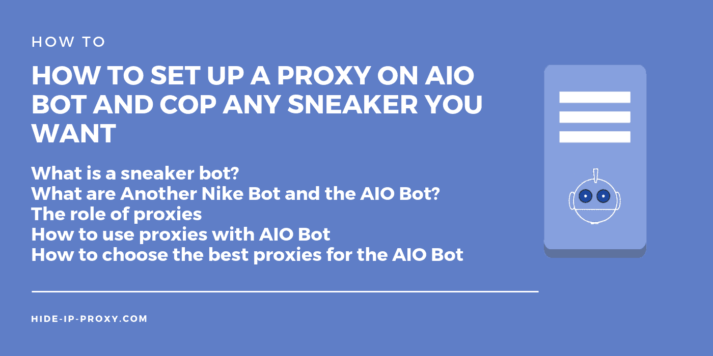 How to set up proxies on AIO Bot - Banner